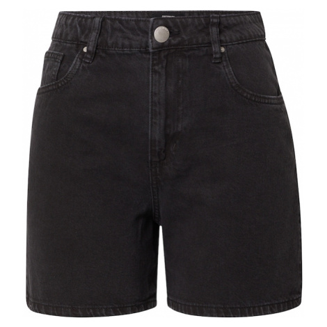 Cotton On Džínsy 'HIGH RISE MILEY DENIM SHORT'  čierny denim