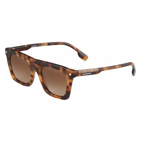 BURBERRY Slnečné okuliare 'CAMRON'  hnedá / béžová / čierna / červená