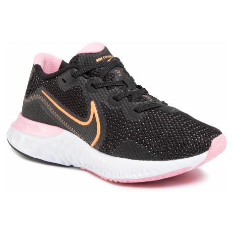Topánky NIKE - Renew Run CK6360 001  Black/Orange Pulse/White/Pink