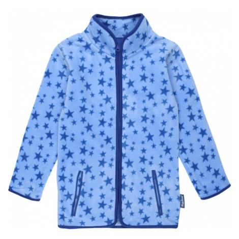 PLAYSHOES Flisová bunda  námornícka modrá / svetlomodrá