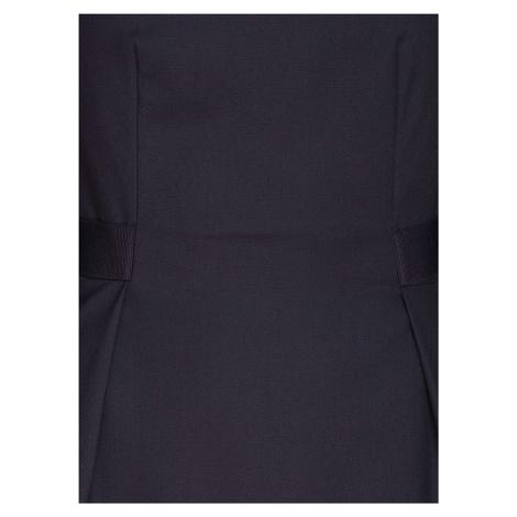 Čierne puzdrové šaty Pietro Filipi