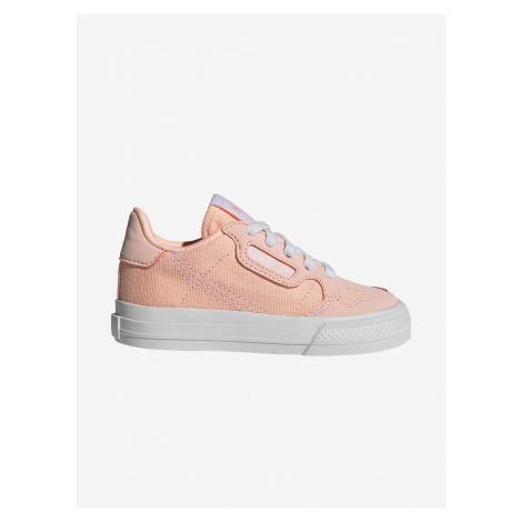 Topánky adidas Originals Continental Vulc El I Růžová