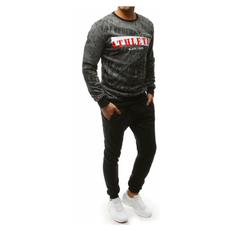 Gray and black men's tracksuit AX0083 DStreet