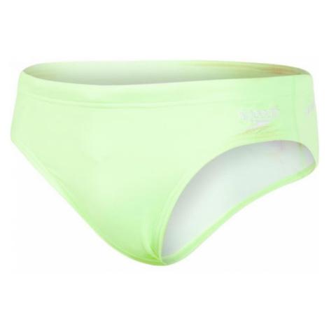 Speedo ESSENTIAL ENDURANCE 7CM SPORTSBRIEF svetlo zelená - Pánske plavky