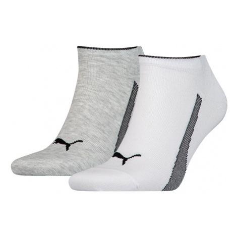 Puma SNEAKERS 2P UNISEX biela - Ponožky