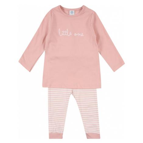 SANETTA Pyžamo  biela / ružová