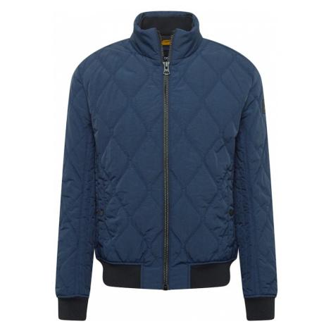 BOSS Prechodná bunda 'Odomeo'  námornícka modrá / čierna Hugo Boss