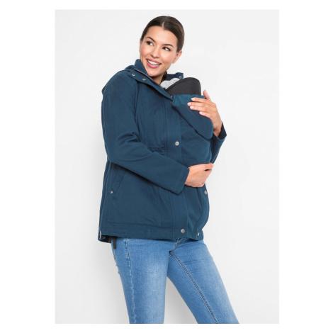 Tehotenská bunda s odnímateľnou vestou