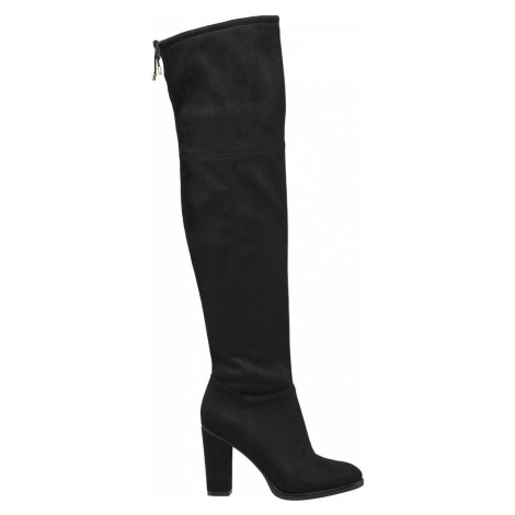 Graceland - Čierne čižmy nad kolená Graceland