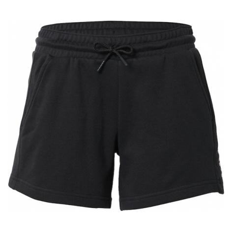 COLUMBIA Športové nohavice  čierna / biela