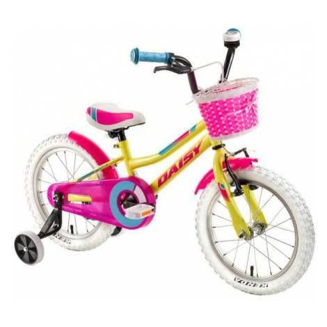 "Detský bicykel DHS Daisy 1602 16"" - model 2018 Farba Turquoise"