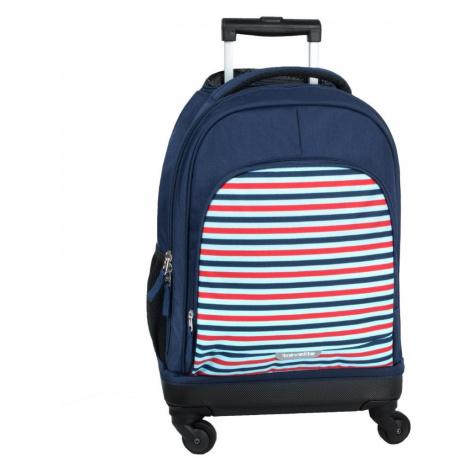 Travelite Detský cestovný kufor Mini-Trip 4w S Stripes 32 l