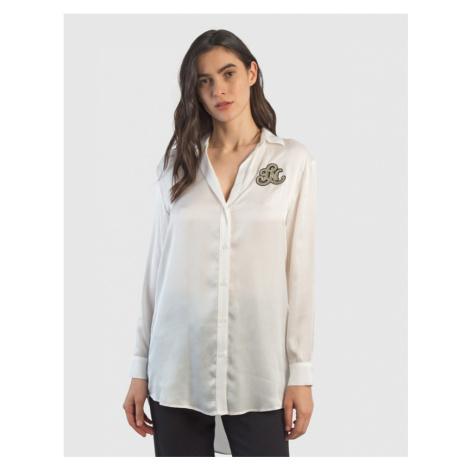 Košeľa La Martina Woman Viscose Satin Shirt L/S