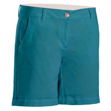 INESIS Dámske golfové šortky modré MODRÁ 32