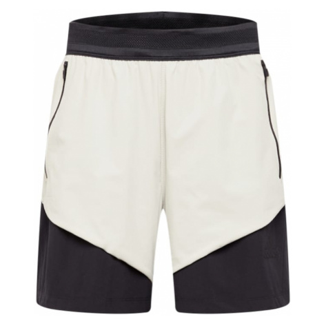 ADIDAS PERFORMANCE Športové nohavice  krémová / čierna
