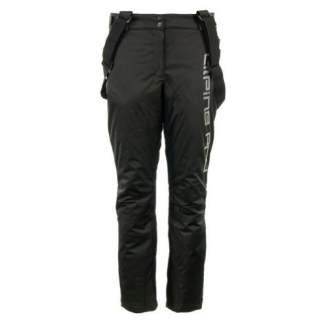 ALPINE PRO PADIA čierna - Dámske lyžiarske nohavice