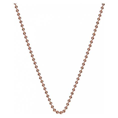 Hot Diamonds Strieborná retiazka Emozioni Rose Gold Bead Chain CH008