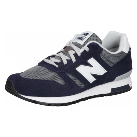 new balance Nízke tenisky 'ML565-D'  modrosivá / námornícka modrá / biela