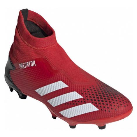 adidas PREDATOR 20.3 LL FG červená - Pánske kopačky