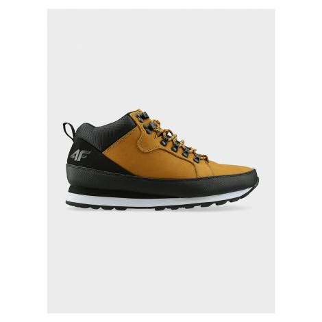 Pánske lifestylové topánky OBMH202 - béžová 4F