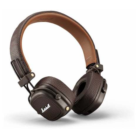 Bezdrôtové hnedé slúchadlá Major III Brown Bluetooth