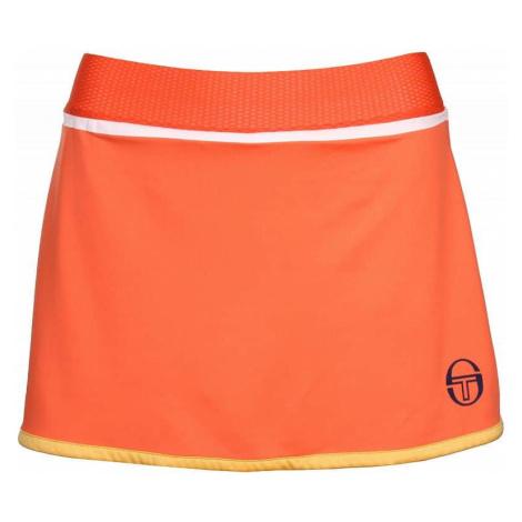 Taped Skort dámská sukně barva: oranžová;velikost oblečení: M Sergio Tacchini