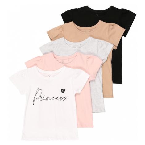 River Island Tričko  svetlobéžová / ružová / čierna / biela / zmiešané farby