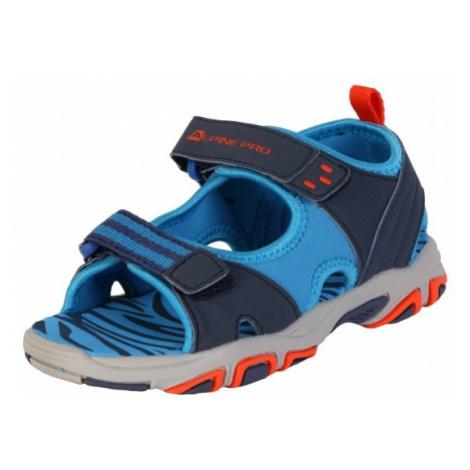 ALPINE PRO CLAINO modrá - Detská letná obuv