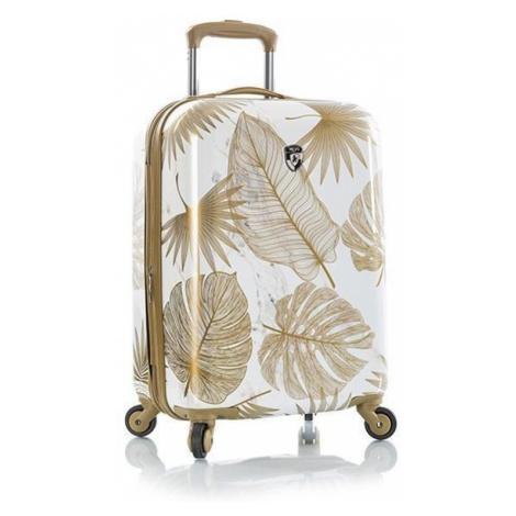 Heys Kabínový cestovný kufor Oasis S White/Gold Leaf 52 l