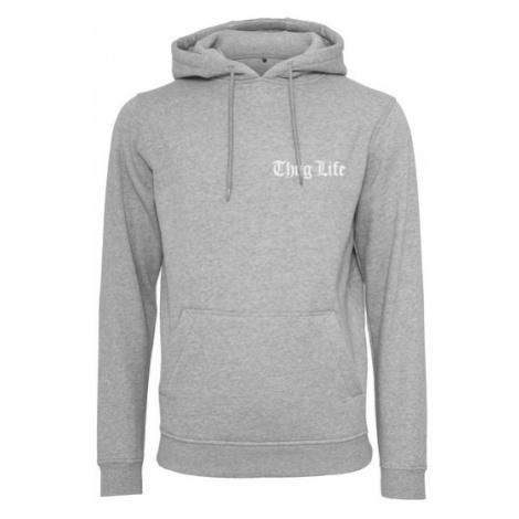 Thug Life Thug Life Chest Logo Hoody grey - Veľkosť:M