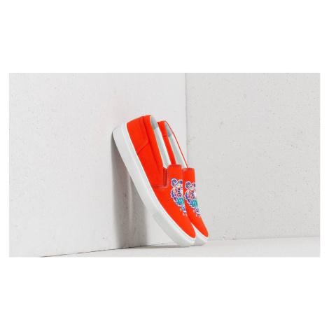 Kenzo K-Skate Tiger Sneakers Orange
