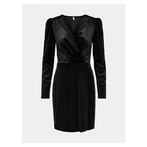 Čierne spoločenské šaty ONLY Nerve