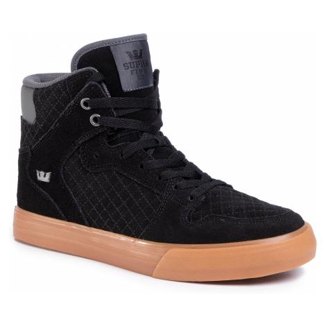 Sneakersy SUPRA - Vaider 08206-028-M Black/Dk. Grey-Gum