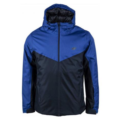 4F MEN´S SKI JACKET tmavo modrá - Pánska lyžiarska bunda
