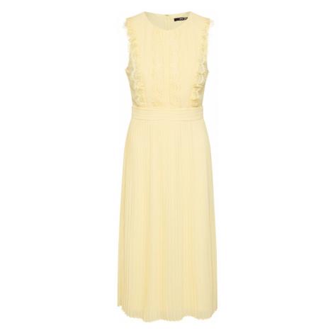 TFNC Letné šaty 'NEICY MIDI'  svetložltá