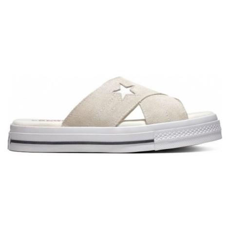 Converse ONE STAR SANDAL biela - Dámske šľapky