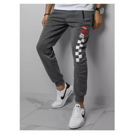 Gray men's sweatpants Dstreet UX3041