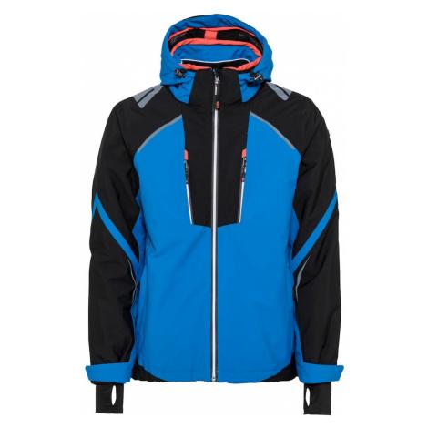 KILLTEC Outdoorová bunda 'Aakash'  čierna / modrá