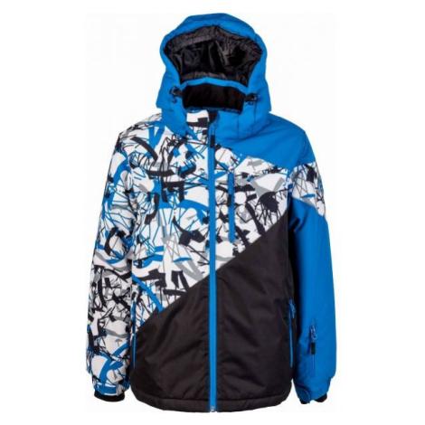 Lewro PHIL modrá - Chlapčenská zimná bunda