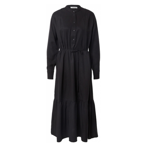 MOSS COPENHAGEN Košeľové šaty 'Norine Stephie'  čierna