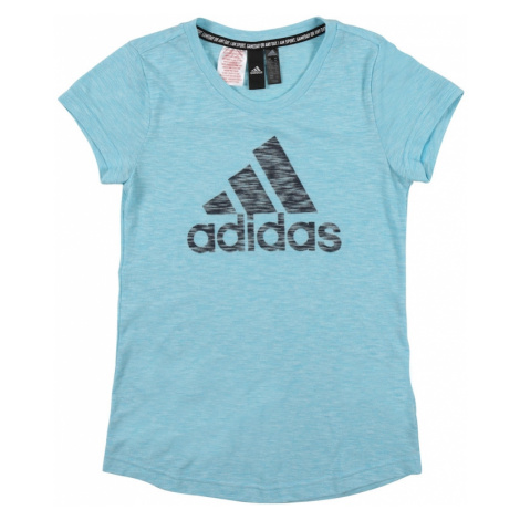 ADIDAS PERFORMANCE Funkčné tričko  tyrkysová / čierna