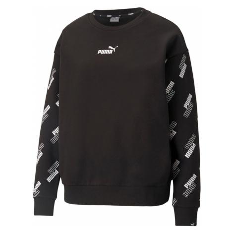 Puma Power AOP Crew Sweatshirt Ladies