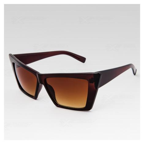 Slnečné okuliare Star hnedé