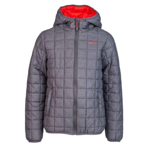 Head DOSS tmavo šedá - Detská zimná bunda