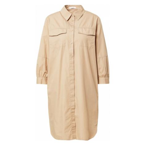 OPUS Košeľové šaty 'Wilipo'  svetlobéžová