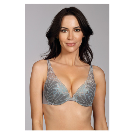 Podprsenka Wonderbra Triangel Double Push-Up Grey