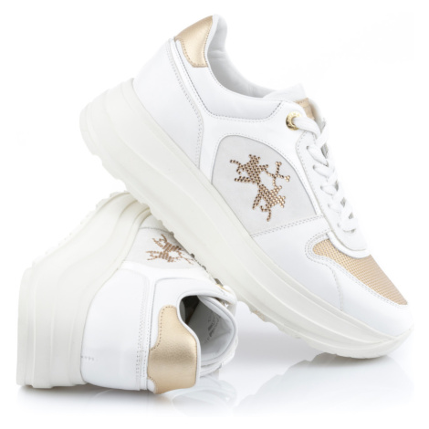 Tenisky La Martina Woman Shoes Nappa