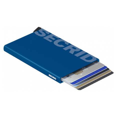 Secrid Cardprotector Laser Logo Blue-One size modré CLa-Logo-Blue-One-size