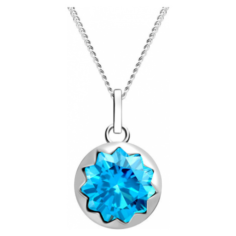 Preciosa Dámsky strieborný náhrdelník Vela 67 (retiazka, prívesok)