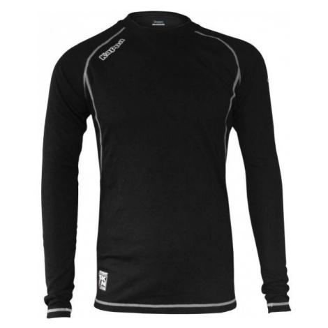 Kappa 4SKIN FUNCTIONAL TOP YTH čierna - Dámske funkčné termo tričko